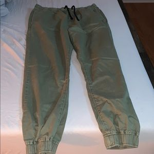 Men's American eagle jogger pants
